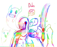 ( OFF Collage doodle / Dedan by Will-The-LazyBones