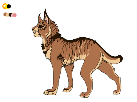 Caracal Adopt 1 [CLOSED] by VonDuex-Adopts