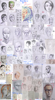 Sketchdump - Faces by Apply-Some-Pressure