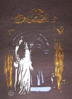 Angel of Music Mirror Scene Stencil by SilverDrgnbane