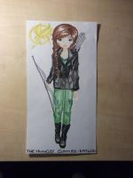 TOPModel Katniss Everdeen from the Hungergames by LovedAngelxX