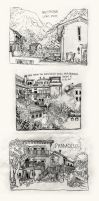 Sketches of Italy by tarantellino