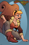 Squirrel Girl by dwaynebiddixart