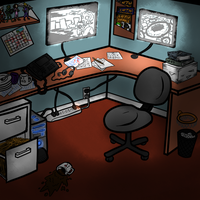 Set Design - Cubicle by slaymanexe