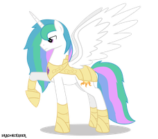 Celestia Rule 63 by DragonChaser123