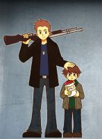 Supernatural Brothers by SuppieChan