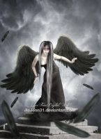 Black Angel by JiaJenn31