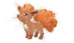 Paint Drip Vulpix by ImpersonatingPanda