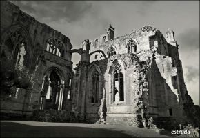 The Abbey Of St Mary Of Melrose,. 5 by Estruda