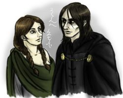 Loki and Sigyn by chiauve