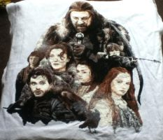 Game of Thrones Cross Stitch by Nevermind1977