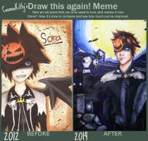 Draw This Again - Sora by CosmosKitty