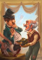 7The Elves and the Shoemaker 2014 6 by RosieVangelova