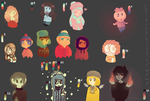 South Park Colour Palettes by MeiGoat