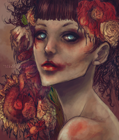 Lady of the Flowers by CarrotCakeBandit