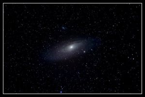 Andromeda Galaxy M31 by quicksimon