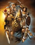 Seven Warriors 1 by JPRart