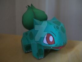 Bulbasaur Papercraft by shadowandtikalfan