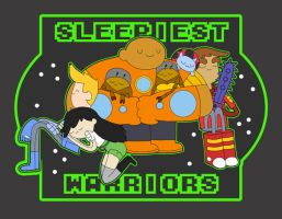 Sleepiest Warriors by ichigomomo