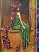 Rapunzel - Detail by vampireheartagram27