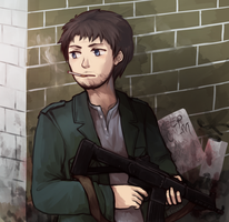SPN - A soldier I'll be by say0ran
