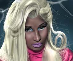 Nicki Minaj. Beez In The Trap by Ddog04