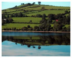 The Rolling Hills of Ireland by tarynheart