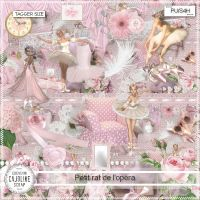 Petit Rat de l'opera - Tagger size kit by cajoline-scrap