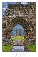 St Andrews Cathedral HDR by fatgordon0