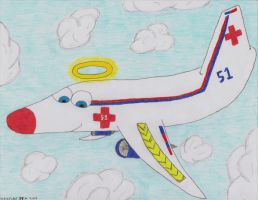 medical plane by sharkplane77