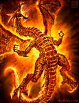 Rage of the Red Dragon by VegasMike