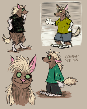 Digital Sketchpage 28 Sep 2015 by ltread