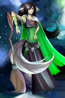 Witch of Space by Kambari-bum