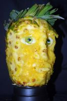 Shawn Spencer Pineapple Head by puzzledperplexity