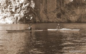 Jen and Pat on the Water by ClymberPaddler