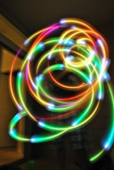 Light painting 1 by LaFemmeDelaisse