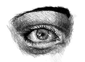 eye sketch by Avivrez
