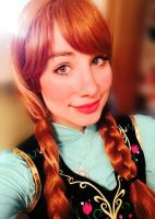 Frozen Anna by Sarina-Rose