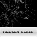 broken glass brushes by reven94