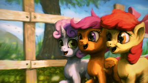 Hearty Fillies by AssasinMonkey