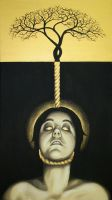 Self Portrait: The Hanging by dcwilson