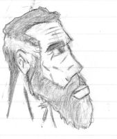 Moses Portrait Sketch by SplendorEnt