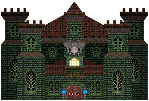 Hanted Castle made by me 2 by Banjo2015