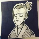 Inktober Day 6 Sokka by The-Letter-W