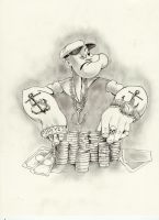 Popeye Poker by samurai30