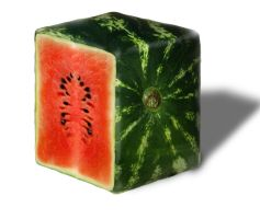 watermelon- square fruits by tedian