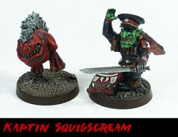 Kaptin Squigscream by Proiteus