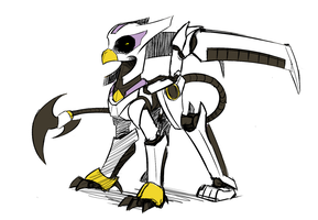Megamare X - Storm Griffon by Underpable