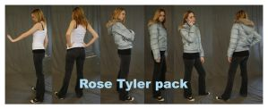 Rose Tyler pack 1 by faestock