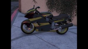 Hakuchou AKA Hayabusa Super Bike by Zapzzable100